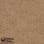 Брусчатка мозаика 203 areno trigo
