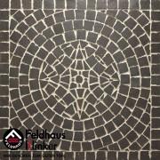 Брусчатка мозаика 609 umbra ferrum